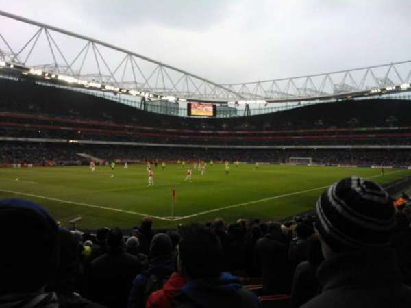 Emirates Stadium, section: 21, row: 14, seat: 654