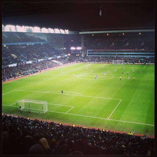 Villa Park, section: K3, row: 10, seat: 55
