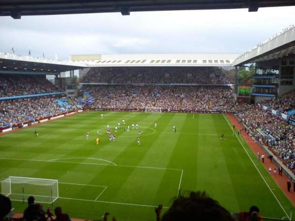 Villa Park, section: T2, row: T, seat: 20