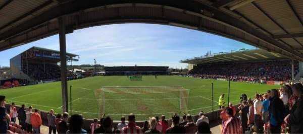 Sincil Bank, section: Stacey West, row: Unreserved