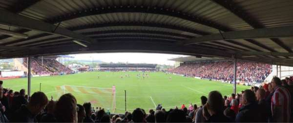 Sincil Bank, section: SW3, row: M, seat: 61
