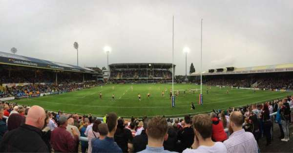 Headingley Stadium, section: West Terrace