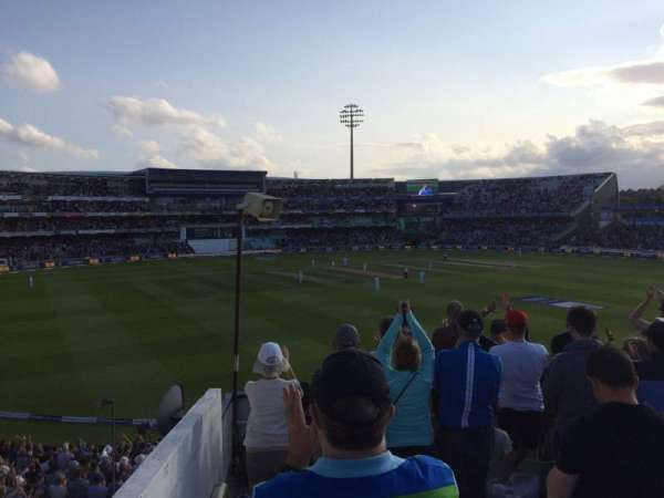 Edgbaston Cricket Ground, section: 16B, row: U, seat: 52