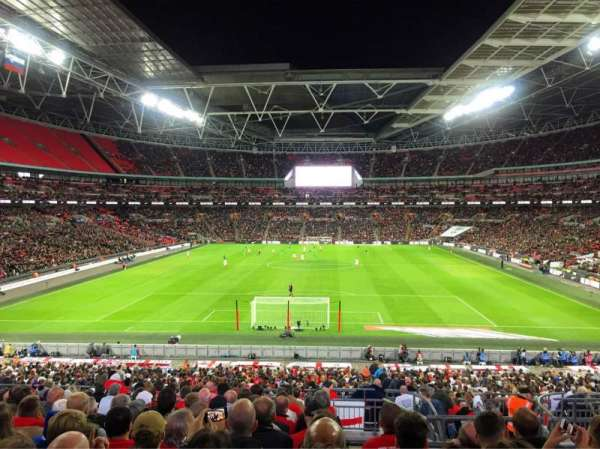 Wembley Stadium, section: Home End