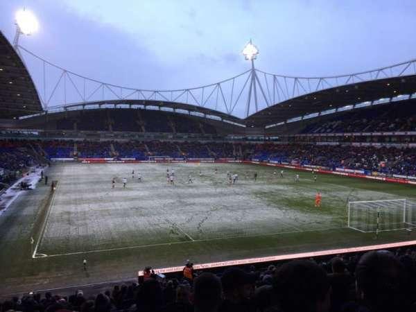 University of Bolton Stadium, section: E, row: Z, seat: 50