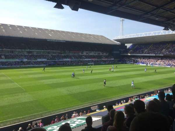 Portman Road, section: V2, row: H, seat: 0002