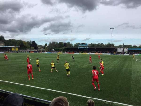 The CNG Stadium, section: Standing