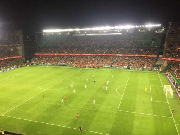 Estadio Benito Villamarin, section: 19, row: 8, seat: 170