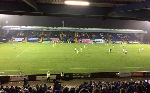 Gigg Lane, section: East Stand, row: Back