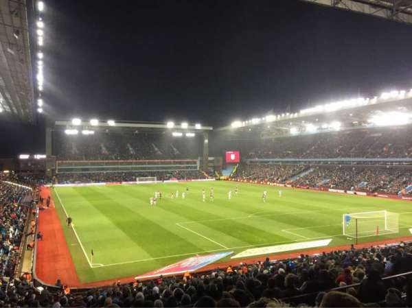Villa Park, section: L8, row: KK, seat: 211