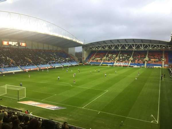DW Stadium, section: N2, row: Y, seat: 18