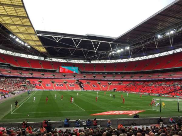 Wembley Stadium, section: 136, row: 21, seat: 63
