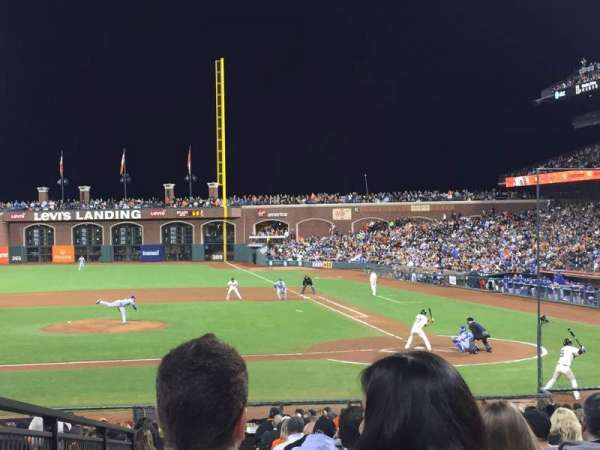 AT&T Park, section: 122, row: 24, seat: 4