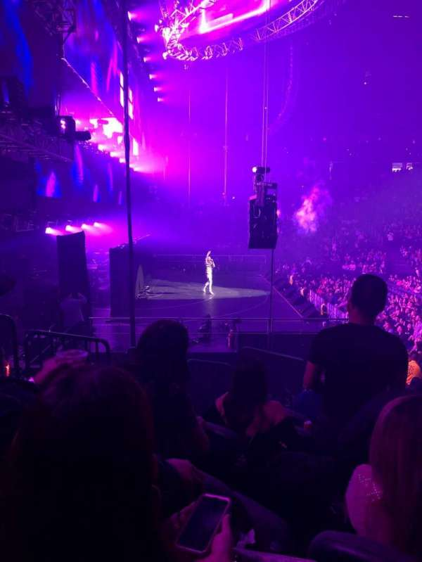 T-Mobile Arena, section: 3, row: L, seat: 6