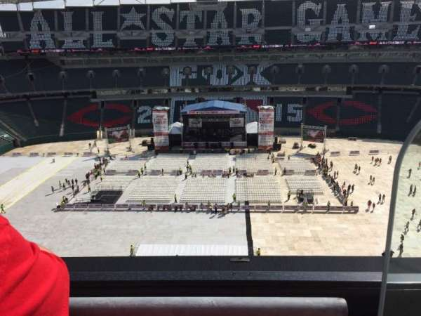 Paul Brown Stadium, section: 340, row: 1, seat: 1