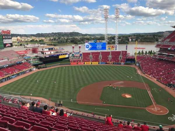 Great American Ball Park, section: 518, row: L, seat: 9