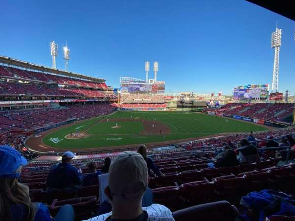 Great American Ball Park, section: 302, row: I, seat: 9