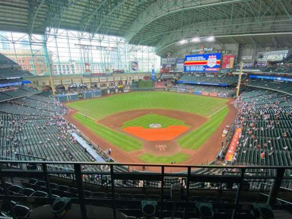 Minute Maid Park, section: 418, row: 2, seat: 11