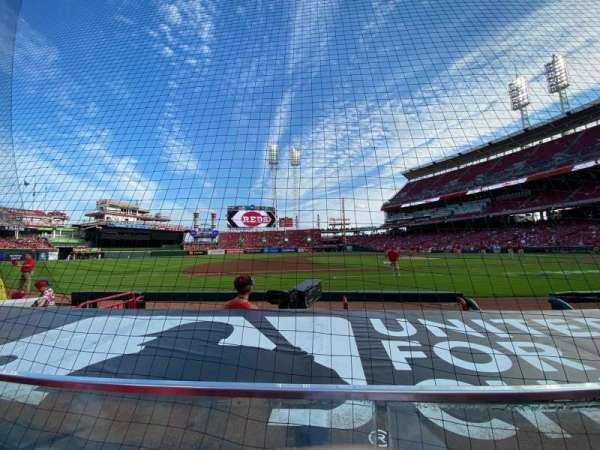 Great American Ball Park, section: 115, row: F, seat: 5