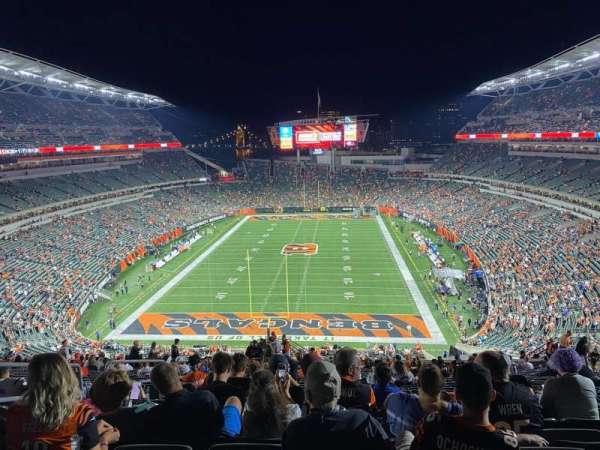 Paul Brown Stadium, section: 224, row: 36, seat: 24