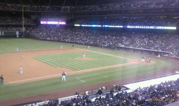 Coors Field, section: 242, row: 1, seat: 7