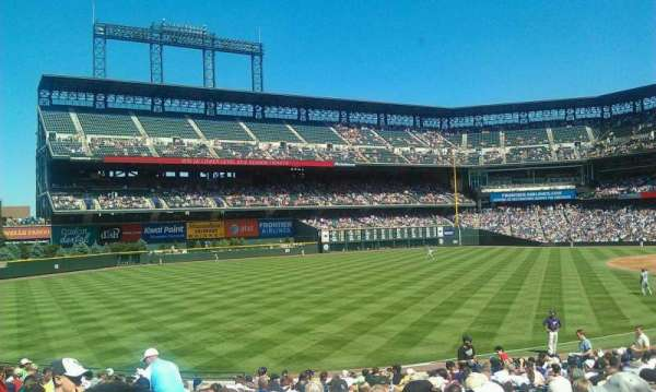 Coors Field, section: 147, row: 24, seat: 10