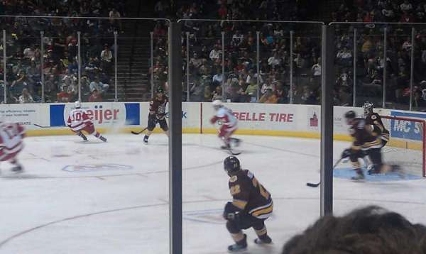 Van Andel Arena, section: 107, row: E, seat: 11