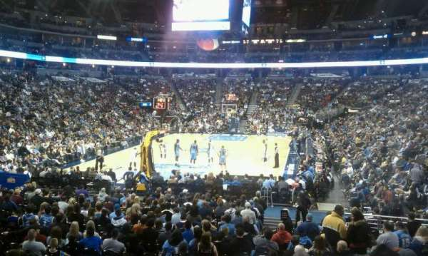 Pepsi Center, section: 110, row: 15, seat: 11