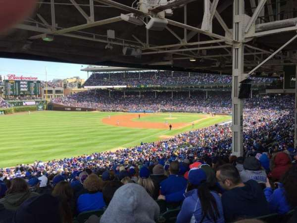 Wrigley Field, section: 202, row: 27, seat: 7