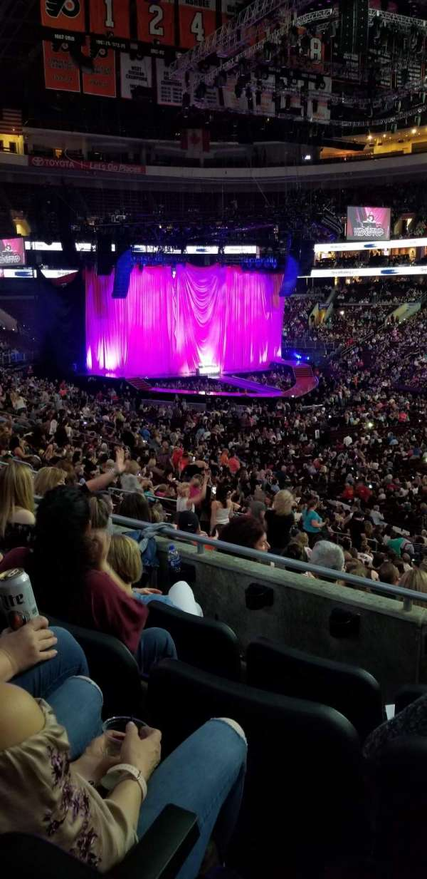 Wells Fargo Center, section: Club box 4, row: 4, seat: 18