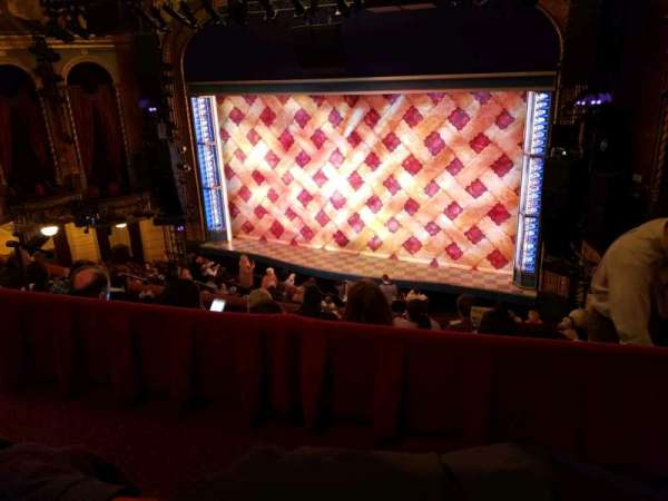 Brooks Atkinson Theatre, section: Rear Mezzanine LC, row: E, seat: 101