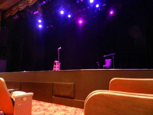 Borgata Music Box Section 300 Row C Seat 301