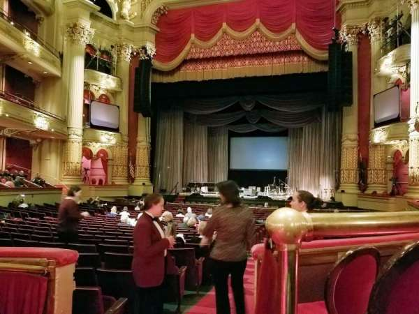 Academy of Music, section: Parquet Circle D, row: T, seat: 2