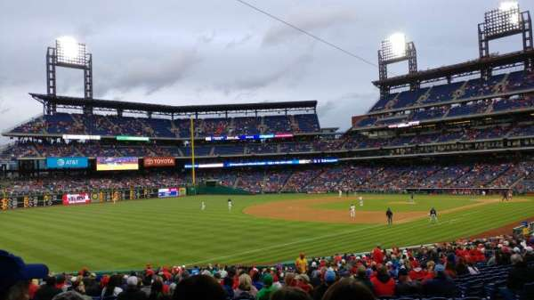 Citizens Bank Park, section: 137, row: 35, seat: 10