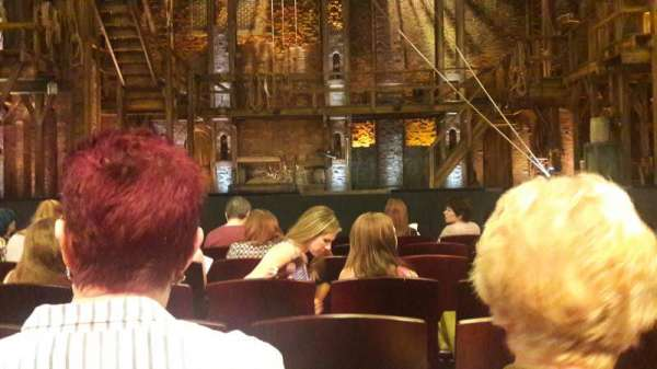 Victoria Palace Theatre, section: Stalls, row: G, seat: 28