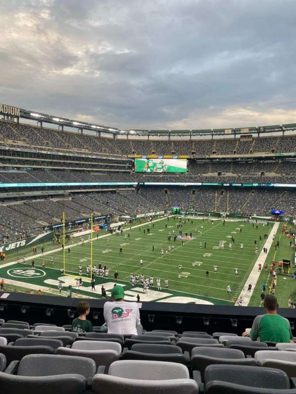 MetLife Stadium, section: 248, row: 7, seat: 7