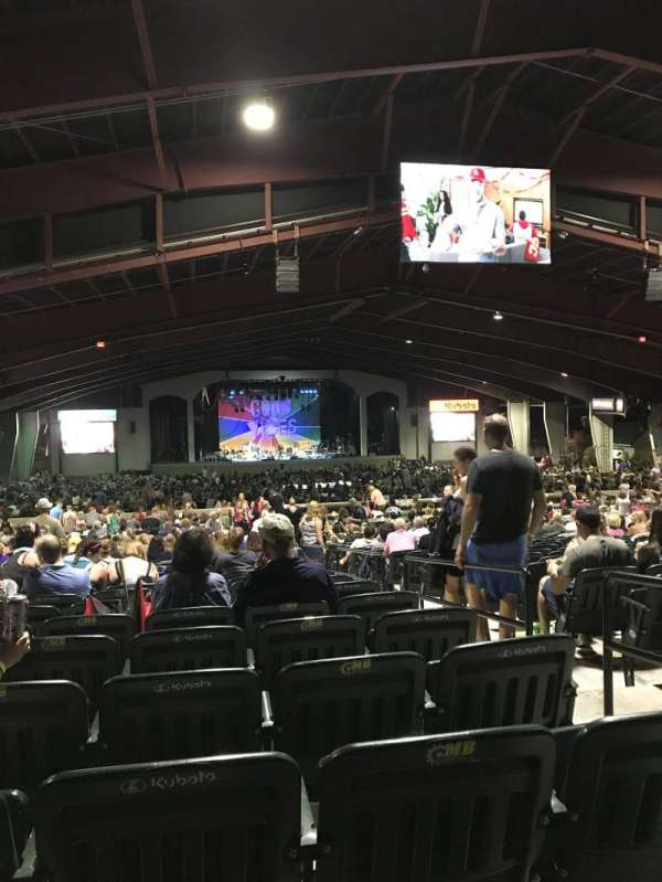 Bank of New Hampshire Pavilion, section: 3B, row: 22, seat: 22
