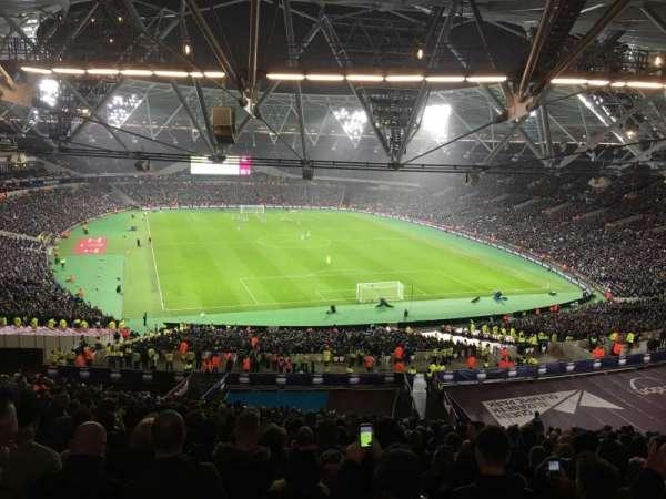 London Stadium, section: 219, row: 67, seat: 79
