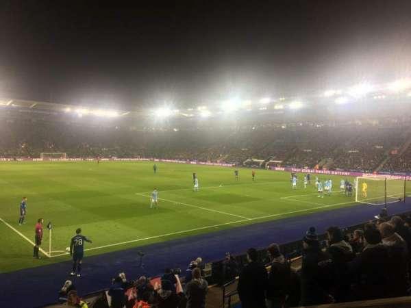 King Power Stadium, section: M1, row: K, seat: 429