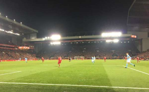 Anfield, section: 124, row: 2, seat: 72