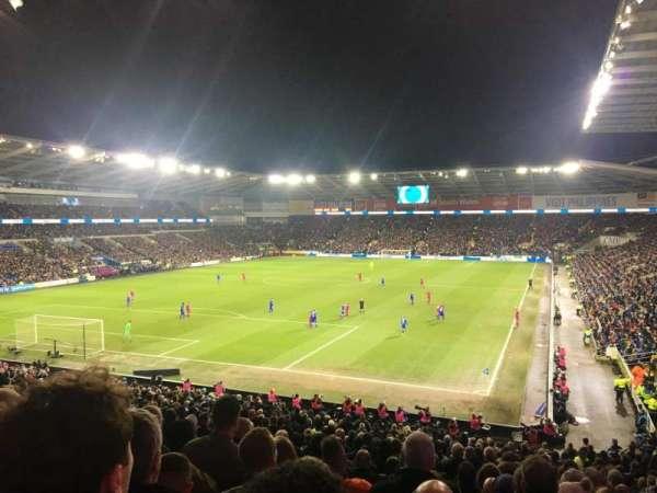 Cardiff City Stadium, section: 122, row: FF, seat: 112