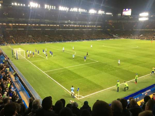 Stamford Bridge, section: Shed Upper, row: 7, seat: 35