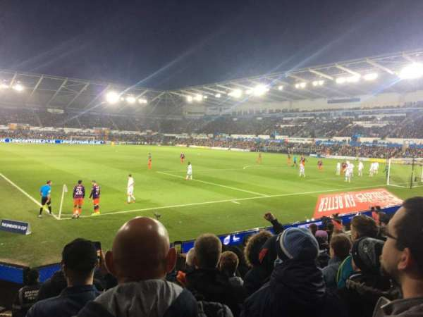 Liberty Stadium, section: North Lower 6, row: I, seat: 171