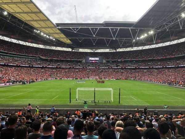 Wembley Stadium, section: 134, row: 21, seat: 1