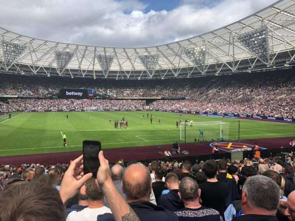London Stadium, section: 118, row: 20, seat: 88