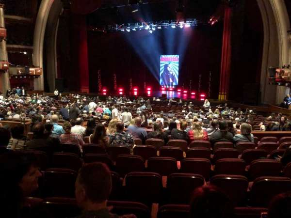 Dolby Theatre, section: Parterre R, row: J, seat: 11