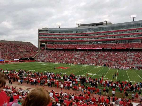 Memorial Stadium (Lincoln), section: 3, row: 24, seat: 8