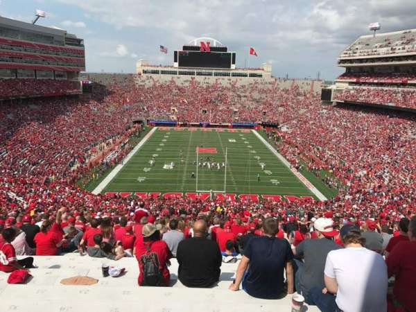 Memorial Stadium (Lincoln), section: 16-b2, row: 98, seat: 33