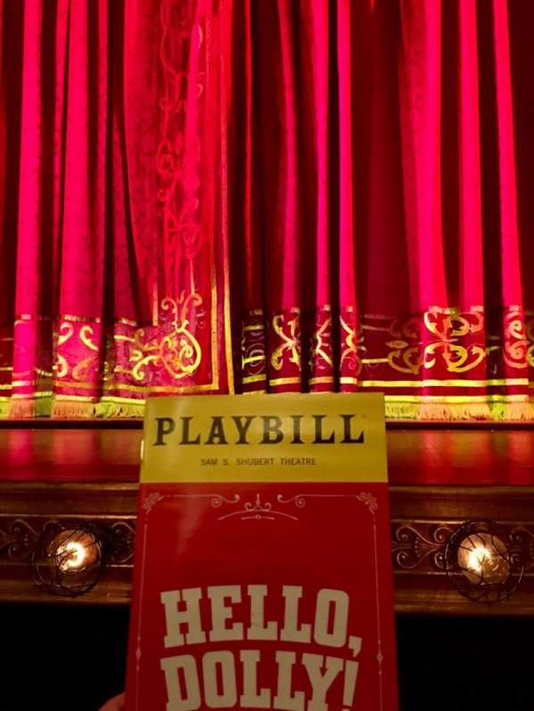 Shubert Theatre, section: Orchestra C, row: B, seat: 104