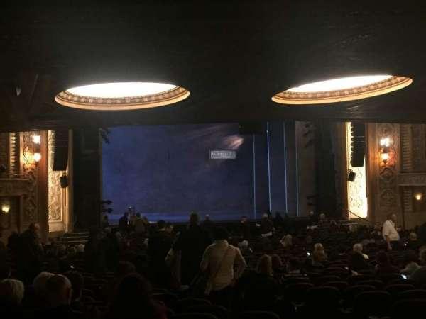 Paramount Theatre (Seattle), section: MFR, row: KK, seat: 5